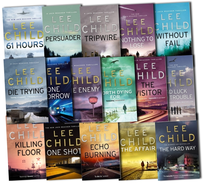 Jack Reacher short story collection to be published