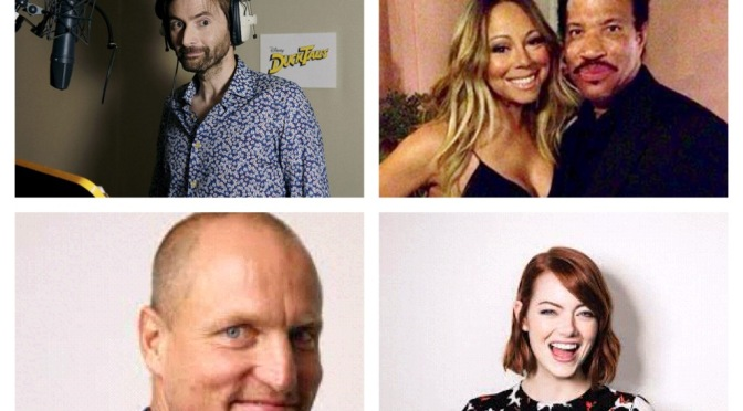 That's A Wrap!: David Tennant, Lionel and Mariah, Emma Stone