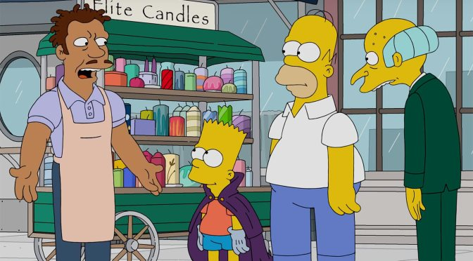 Watch: The Simpsons special hip-hop episode