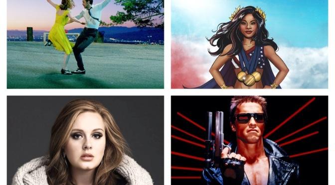 That's A Wrap: La La Land, Gabby Douglas, Terminator