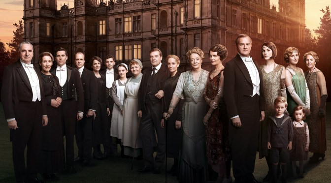 Downton Abbey joins the colouring book craze