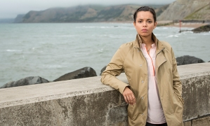 ITV BROADCHURCH SERIES 3 Pictured : GEORGINA CAMPBELL as DC Katie Harford. This photograph is (C) ITV Plc and can only be reproduced for editorial purposes directly in connection with the programme or event mentioned above. Once made available by ITV plc Picture Desk, this photograph can be reproduced once only up until the transmission [TX] date and no reproduction fee will be charged. Any subsequent usage may incur a fee. This photograph must not be manipulated [excluding basic cropping] in a manner which alters the visual appearance of the person photographed deemed detrimental or inappropriate by ITV plc Picture Desk. This photograph must not be syndicated to any other company, publication or website, or permanently archived, without the express written permission of ITV Plc Picture Desk. Full Terms and conditions are available on the website www.itvpictures.com For further information please contact: Patrick.smith@itv.com 0207 1573044