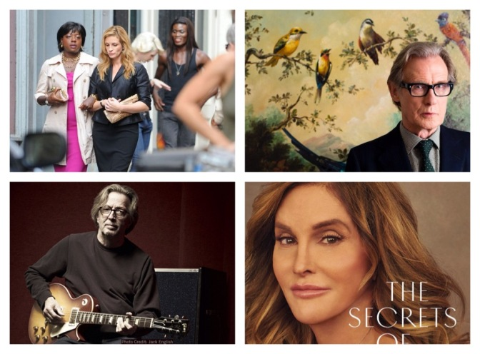 That's A Wrap!: Viola and Julia, Eric Clapton, Caitlyn Jenner