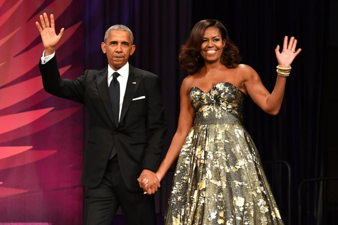 Barack and Michelle Obama sign huge book deals