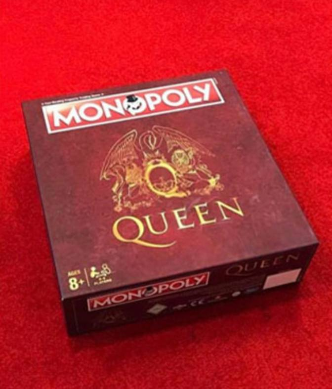 Queen releasing their own version of Monopoly