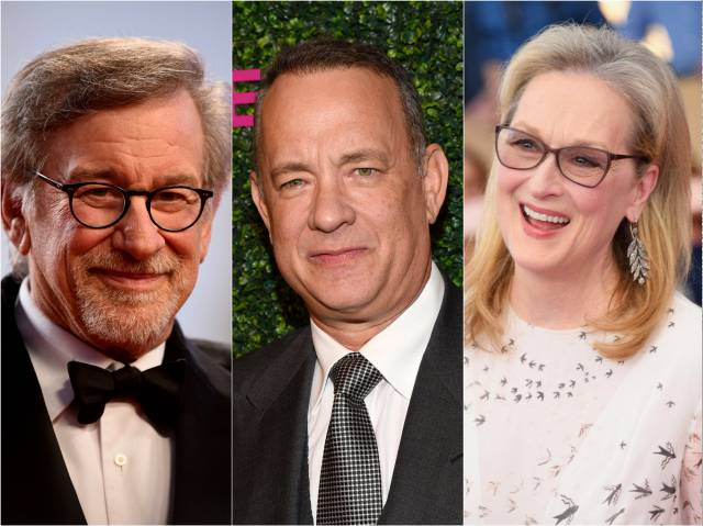 Spielberg, Hanks and Streep