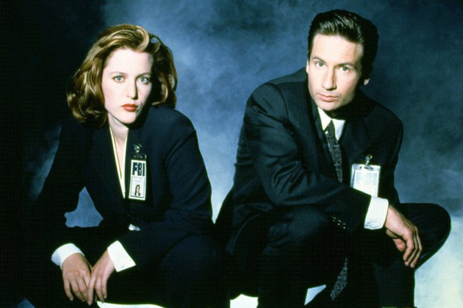 Gillian Anderson, David Duchovny voice new X-Files audiobook