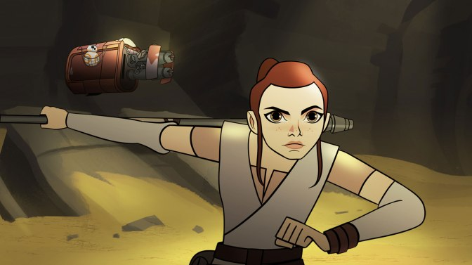 Watch: the first episode of Star Wars Forces of Destiny