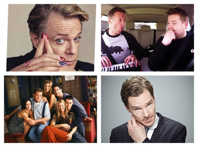 That's A Wrap: Eddie Izzard, Friends the Musical, Benedict Cumberbatch