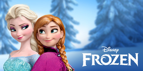 Meet the new Anna and Elsa