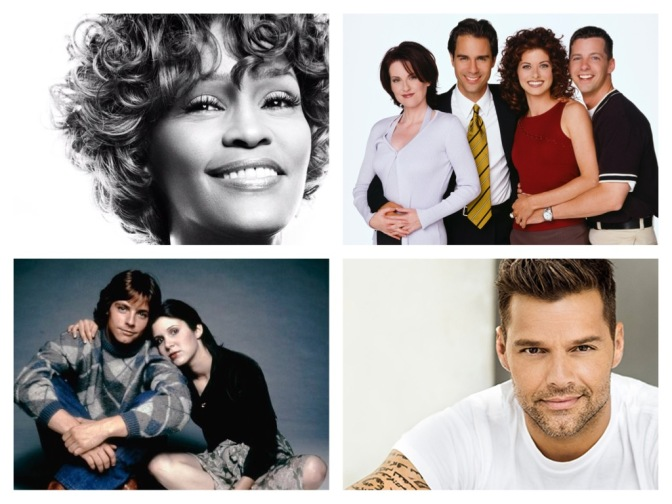 That's A Wrap: Whitney, Will & Grace, Disney Icons