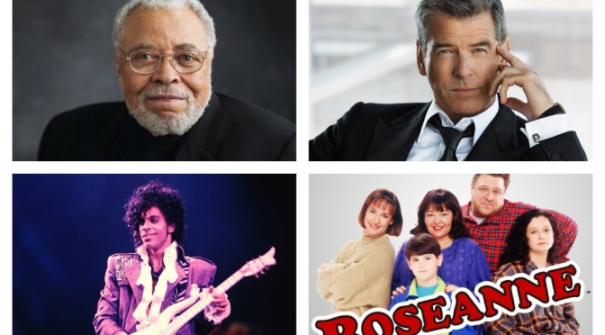That's A Wrap: James Earl Jones, Prince, Roseanne
