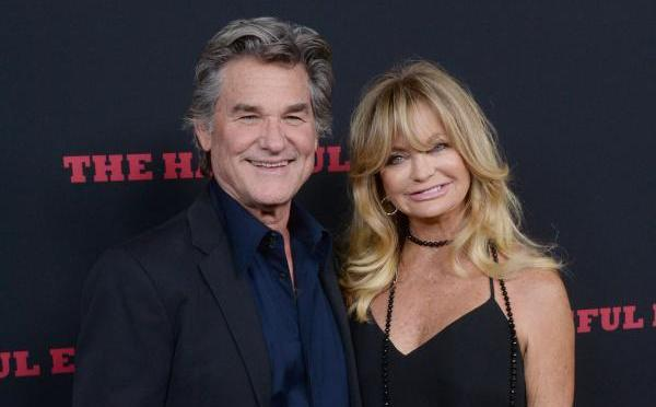 Joint Hollywood honour for Goldie Hawn and Kurt Russell