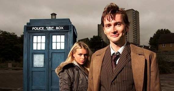 Doctor Who: Ten and Rose reunite for new adventures
