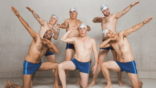 First look: Swimming with Men