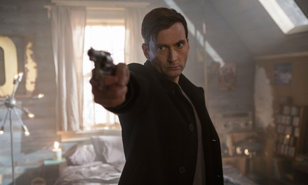First look: David Tennant in Bad Samaritan