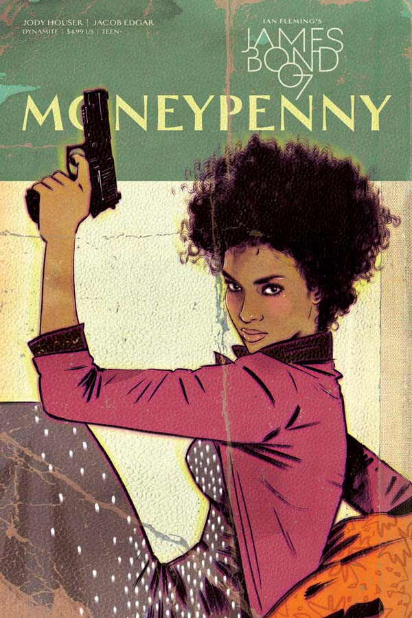 James Bond's Moneypenny gets her own comic book