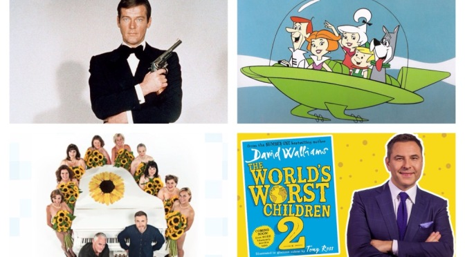 That's A Wrap: Roger Moore, The Girls, David Walliams…