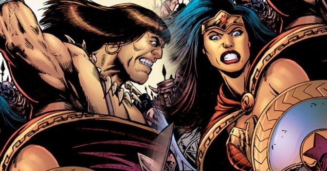 Wonder Woman meets Conan in new comic book