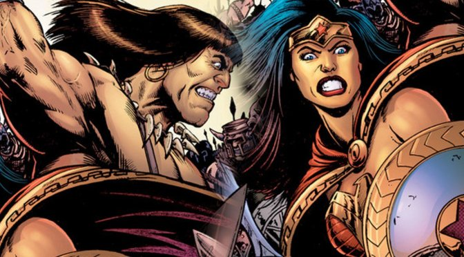 Wonder Woman meets Conan in new comic book