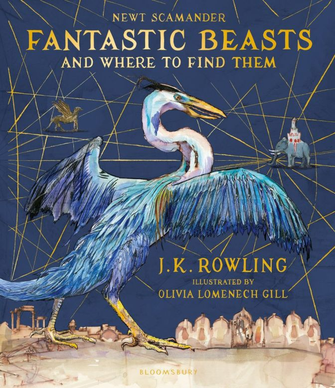 First look: New Fantastic Beasts cover art
