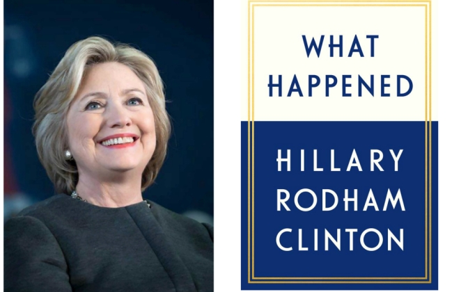 Hillary Clinton to discuss What Happened in London