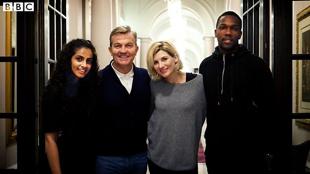 Meet the Doctor's new companions