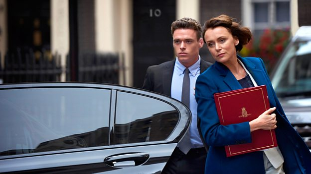First look: Madden and Hawes in Bodyguard