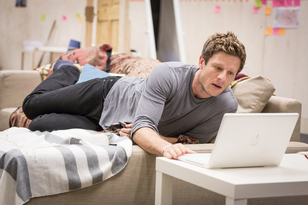 First look: James Norton in rehearsals for Belleville