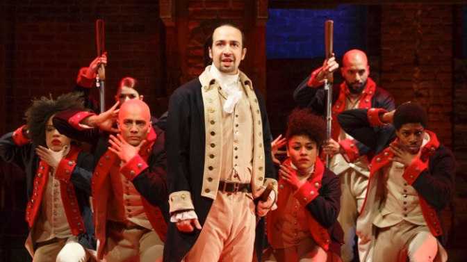 Hamilton cast get ready for London opening