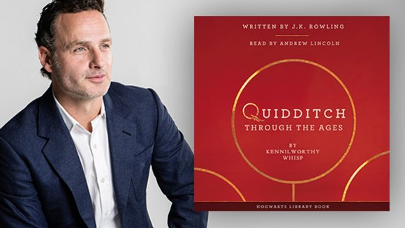 Andrew Lincoln to narrate new JK Rowling audiobook