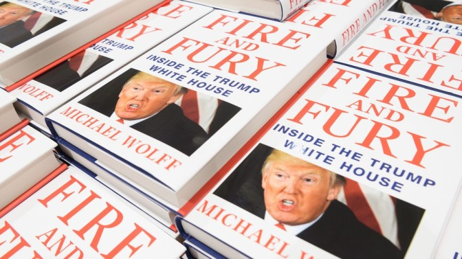 Fire and Fury author set for London event