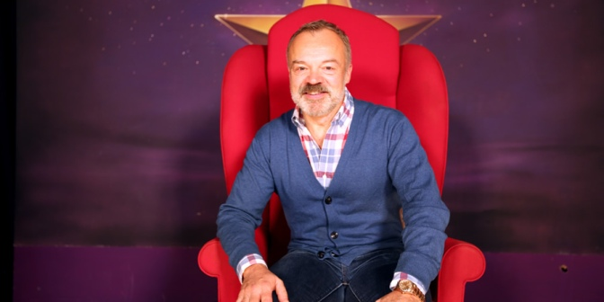Graham Norton is writing his second novel