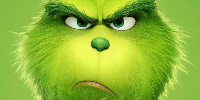 You're a mean one Mr Cumber-grinch