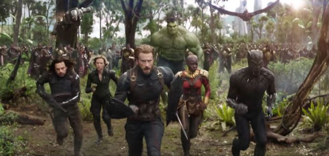 First look: The new trailer for Avengers: Infinity War