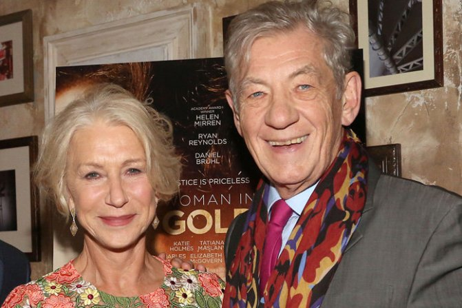 Mirren and McKellen team up for The Good Liar