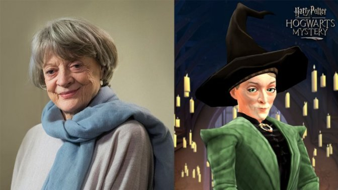 Smith, Gambon to return as McGonagall and Dumbledore