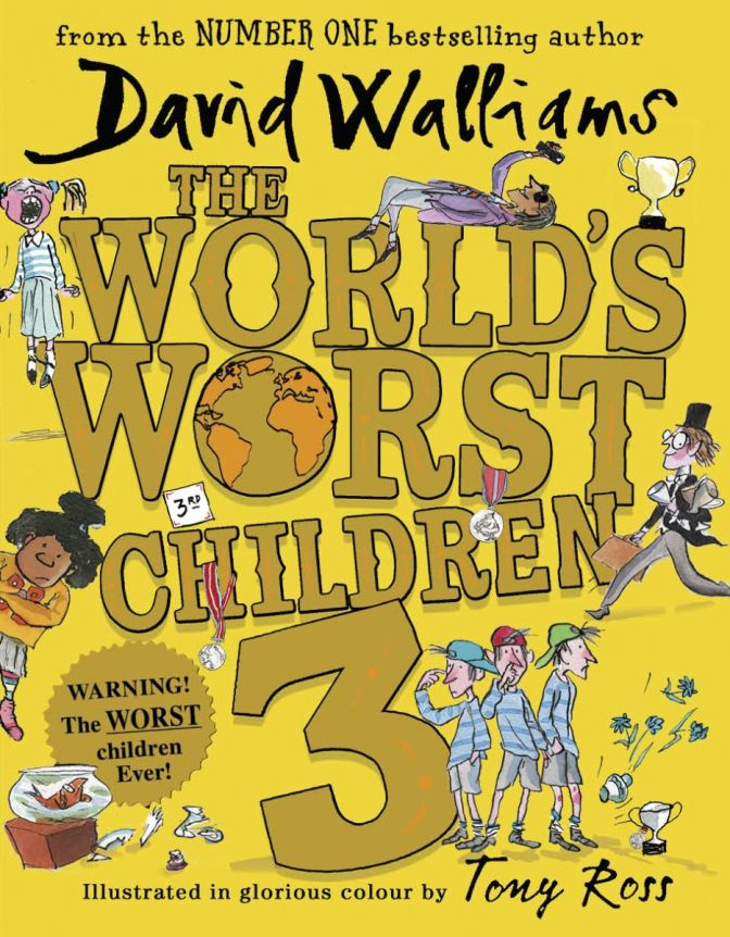 David Walliams' World's Worst Children 3 gets release date