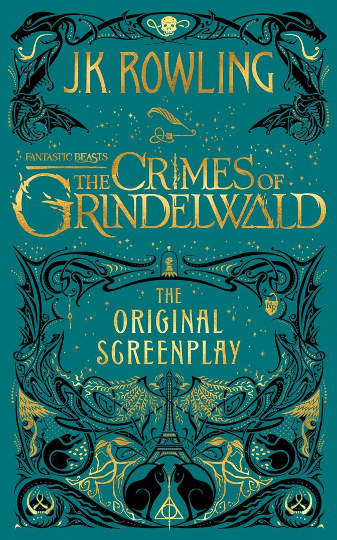 First Look: Fantastic Beasts: The Crimes of Grindelwald book cover