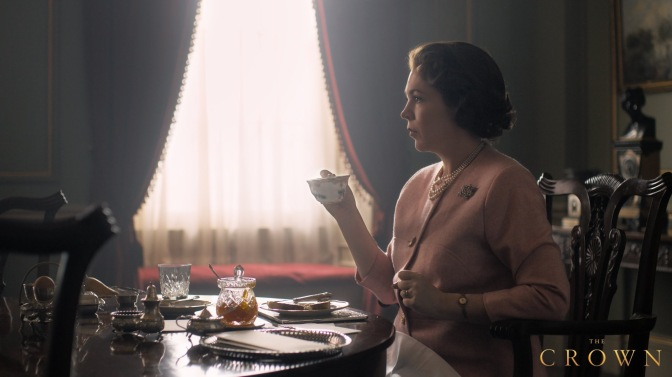 First look: Olivia Colman as The Queen