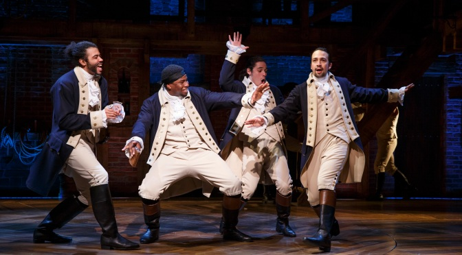 Is Hamilton heading to the big screen?