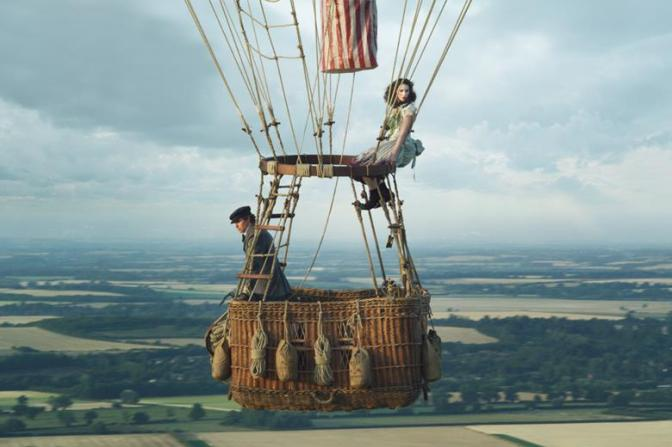 First look: Redmayne and Jones in The Aeronauts