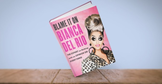 Bianca Del Rio sashays to London book signing