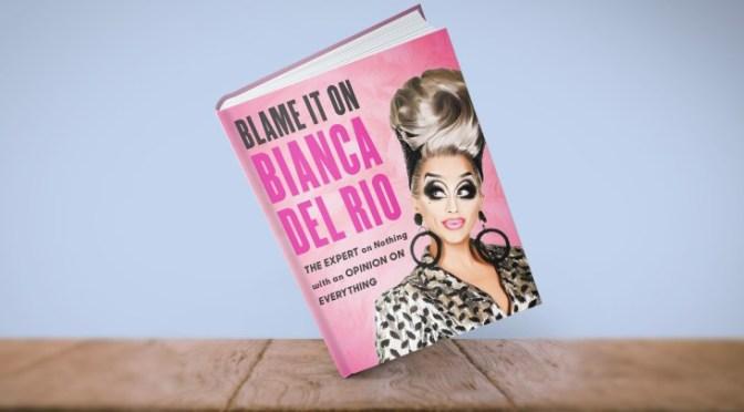 Bianca Del Rio sashays to London book signing