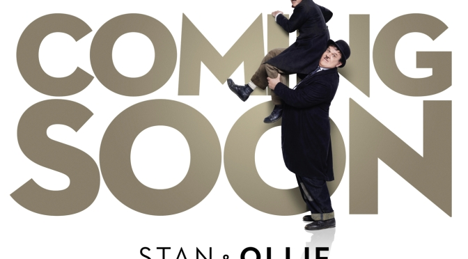 Ladies and gentlemen, Mr Stan Laurel and Mr Oliver Hardy