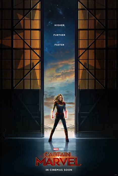 Higher. Further. Faster: Captain Marvel
