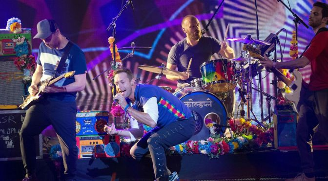 Coldplay have A Head Full Of Dreams
