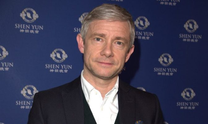 Martin Freeman to star in Breeders