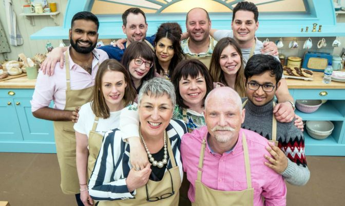 Bake Off's final three set for London book signing