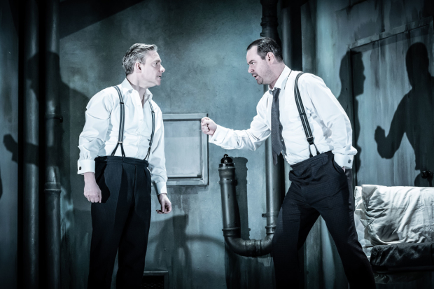 First look: Freeman and Dyer in The Dumb Waiter